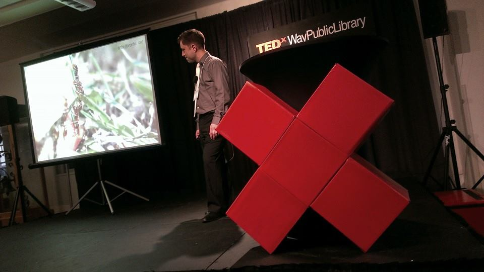 CR Kasprzyk at TEDxWayPublicLibrary, April 12, 2014