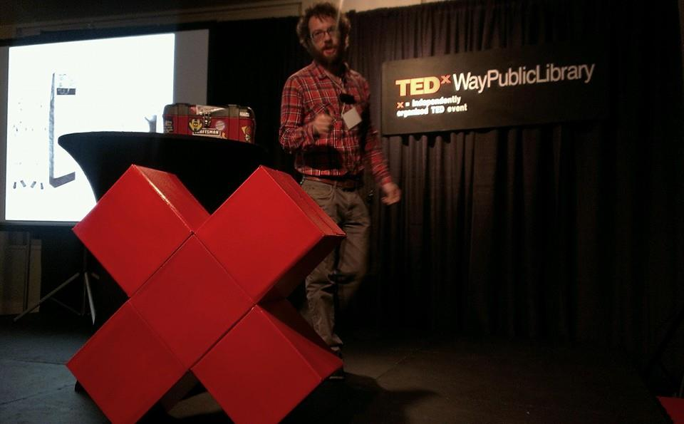 Tim Marzullo at TEDxWayPublicLibrary, April 12, 2014
